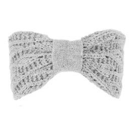 Lace marl Headband Grey