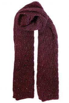 Lace marl scarf