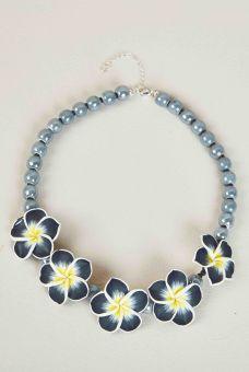 Plumeria Necklace