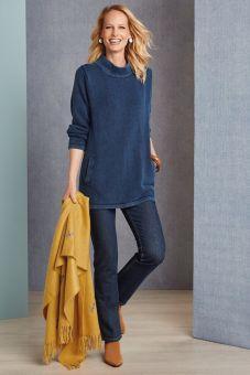 Noella Indigo Sweater