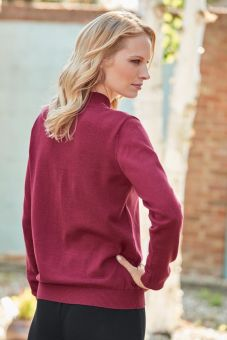 Alicia Sweater - Cranberry