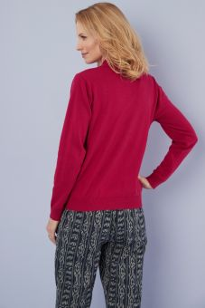 Octavia Sweater - Red