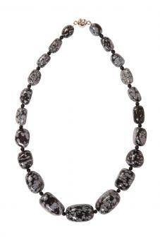 Ceres Necklace Black