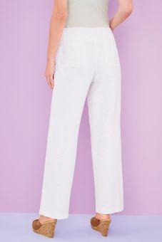Linen Mix Cotton Trousers