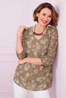 Juno Necklace Green