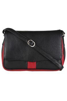 Kendal Black & Red Bag