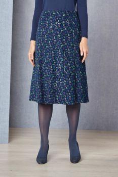 Leaf Cord Skirt