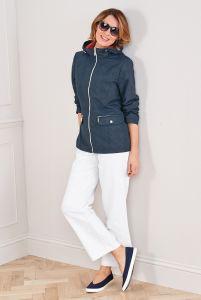 Linen Cotton Blend Trousers