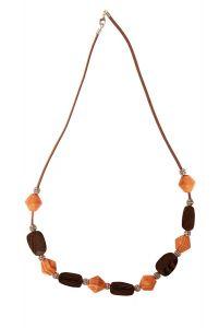 Luna Necklace Brown