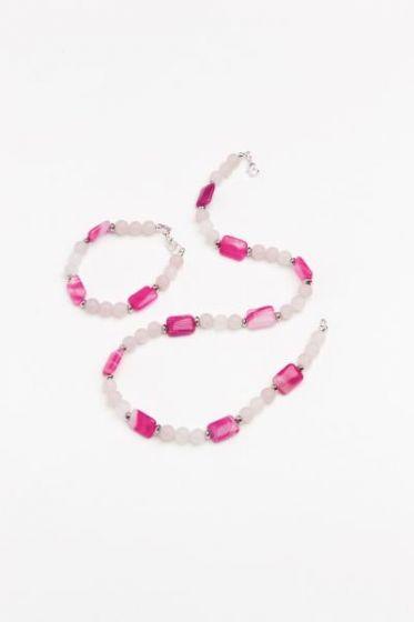 Lady In Pink Bracelet