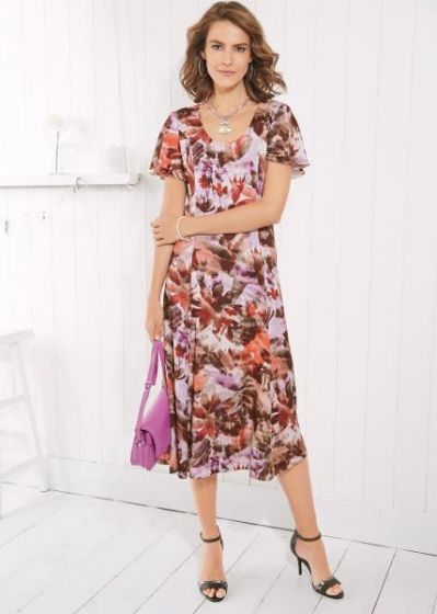 Roma Floral Dress
