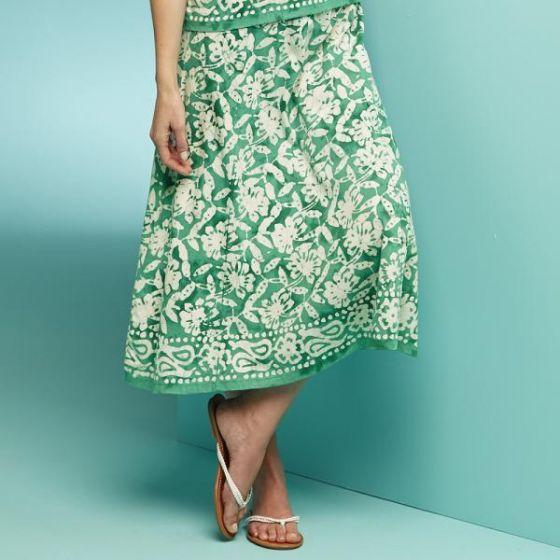 Jade Batik Skirt