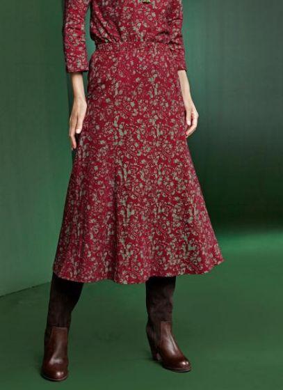 Mildred Batik Skirt
