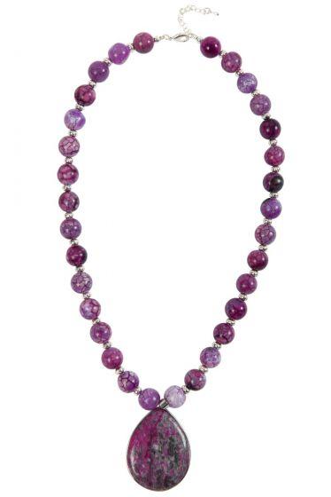 Crackle Necklace