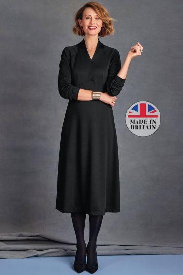 Luxe Wool Blend Dress