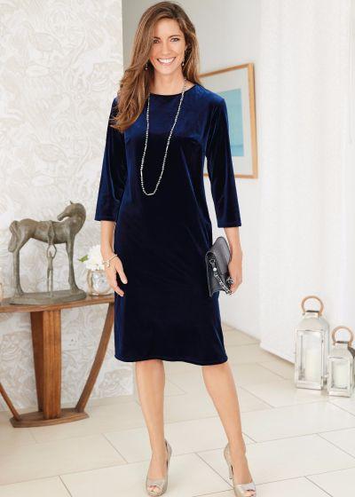 Allura Velvet Dress