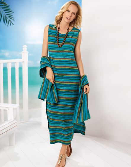 Ailsa Striped Dress