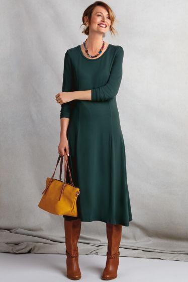 Essential Round Neck Dress