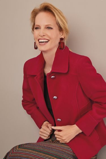 Judith Jacket Red
