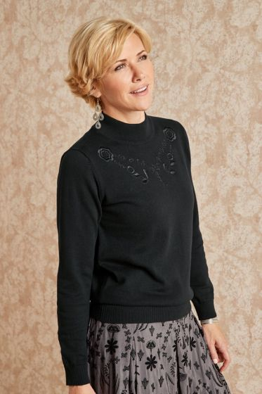 Alicia Sweater - Black