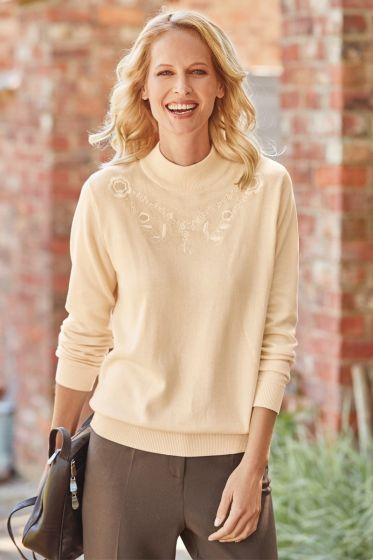 Alicia Sweater - Cream