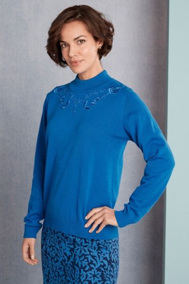 Alicia Sweater - Cobalt