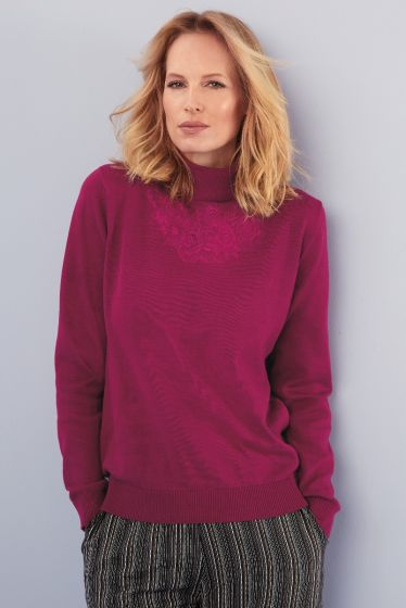 Octavia Sweater - Burgundy