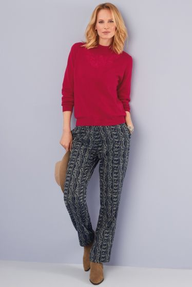 Aztec trousers
