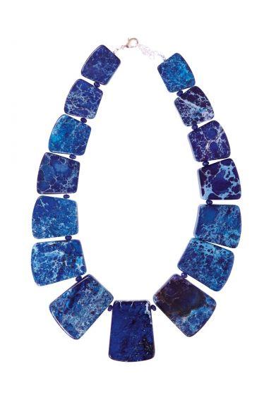 Artemis Necklace Blue