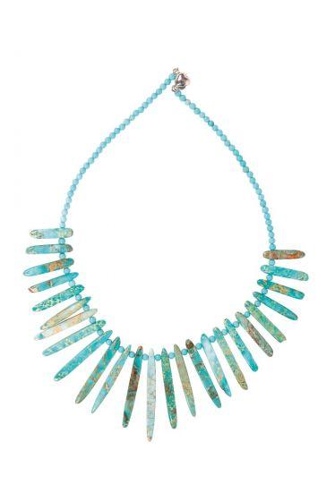 Minerva Necklace Turquoise