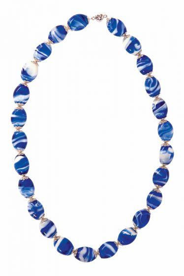 Demeter Necklace Blue