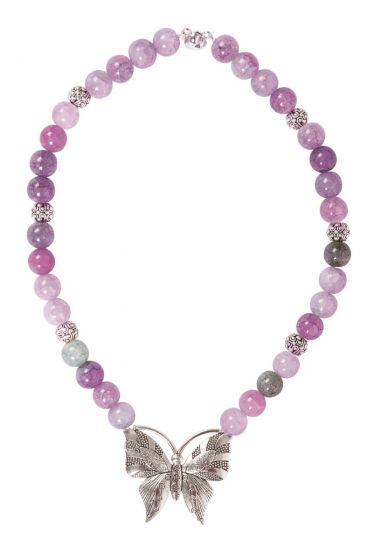 Shala Necklace Purple