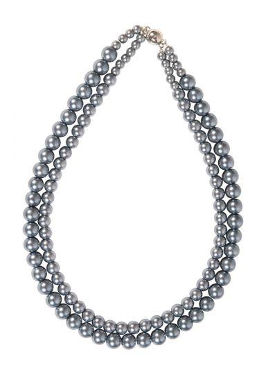 Fortuna Necklace Grey