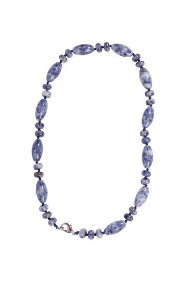 Rhea Necklace Blue