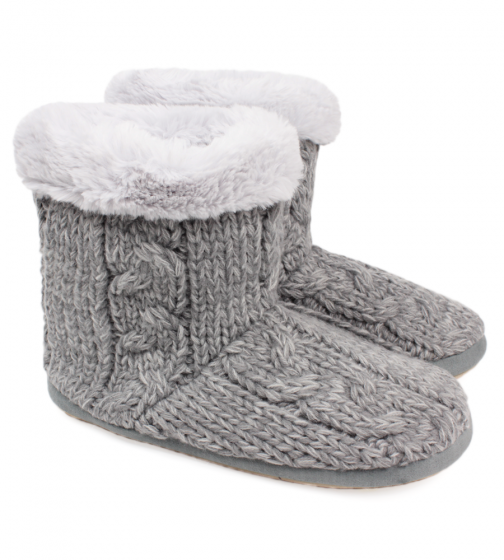 Knit Slipper Boot