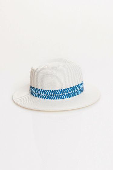Pilar Hat Blue/White
