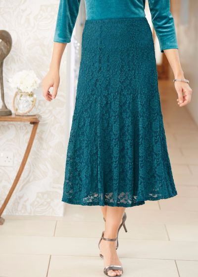 Marilyn Lace Skirt