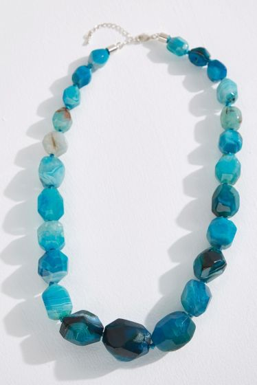 Blue Stones Necklace
