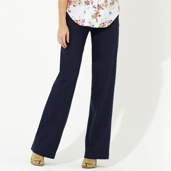 Linen Cotton Mix Trousers