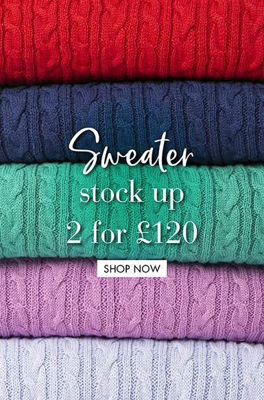 Sweater stock up