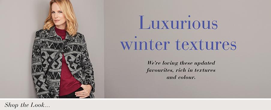 Luxurious Winter Textures