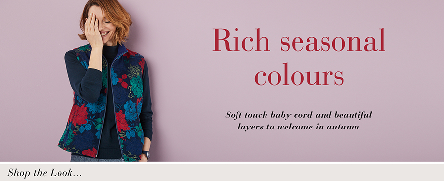 Rich seasonal colours